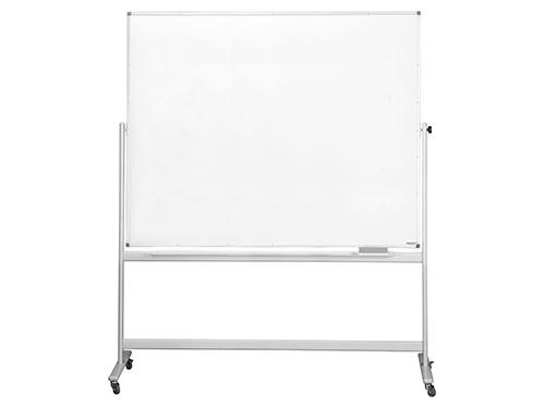 magnetoplan® Whiteboard, mobil, lackiert, H 1200 x B 1800 mm